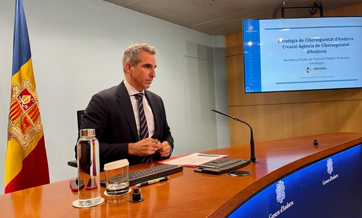 L'Estratègia Nacional de Ciberseguretat d'Andorra estableix el marc que ha de garantir la seguretat en el ciberespai