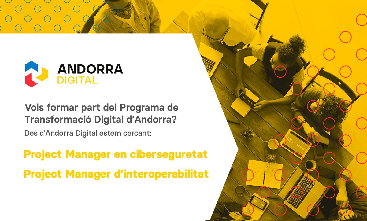 Vols formar part del Programa de Transformació Digital d'Andorra?